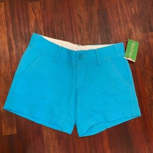 Lily Pulitzer Women's Size 000 Blue Shorts
